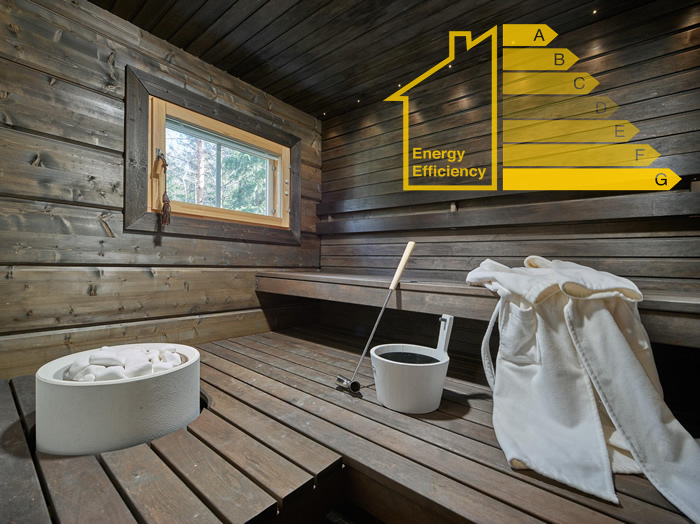 log home energy efficiency