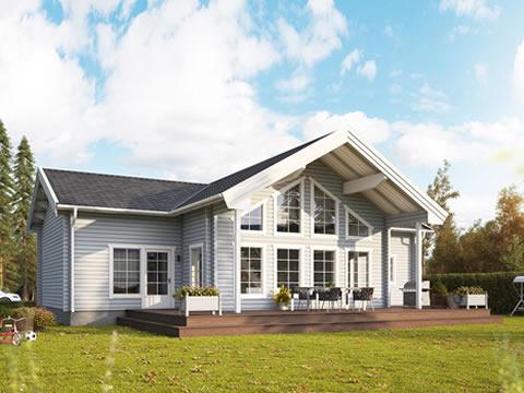 Scandinavian Log Cabins | Log Homes, Wooden Buildings